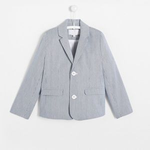 Jacadi Paris Striped Blue White Blazer 8
